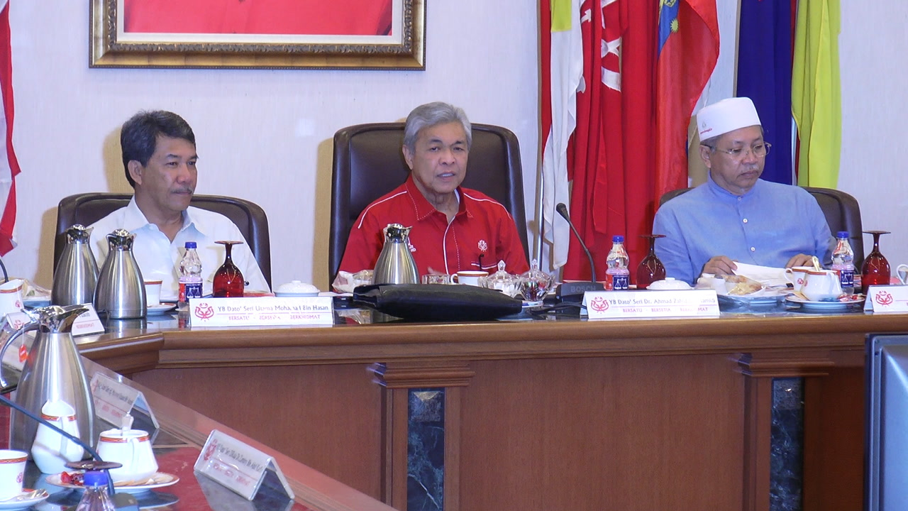 Zahid: No discussion of me taking leave during Umno supreme council meeting   TheStarTV.com