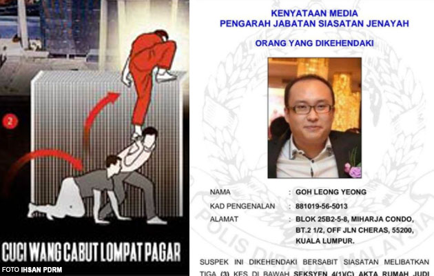 Macau Scam 'King' That Jumped MACC's Fence, Goh Leong Yeong is Officially Wanted by PDRM