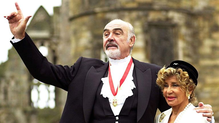Sir Sean Connery: James Bond actor dies aged 90 | UK News | Sky News