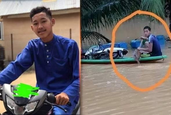 Remaja lemas bantu mangsa banjir: Ibu pelik arwah makan 'nasi dingin'