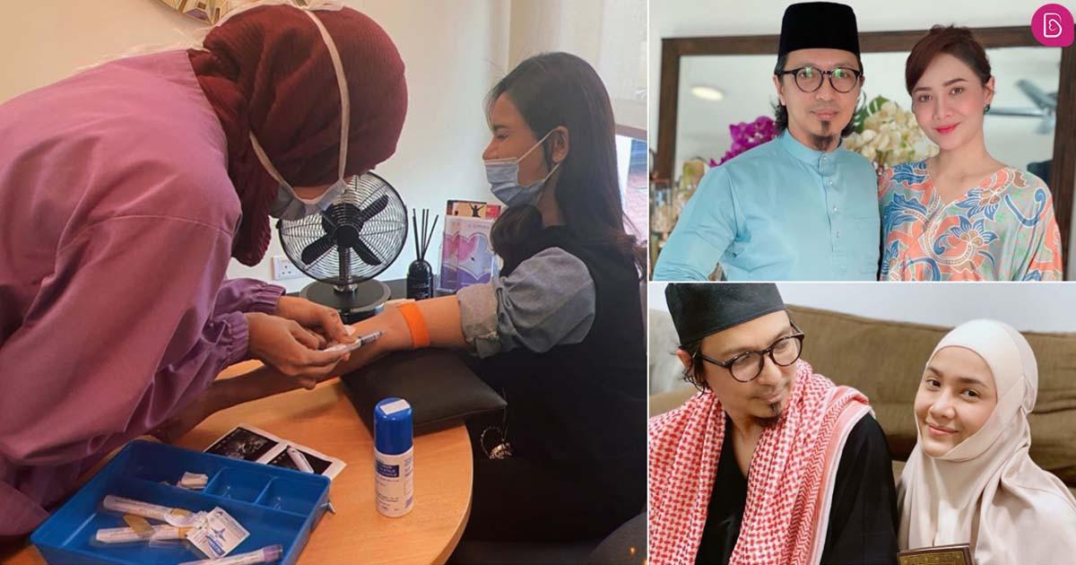 Mulakan proses IVF, suami setia temani dan jaga Siti Elizad di rumah sepenuh masa